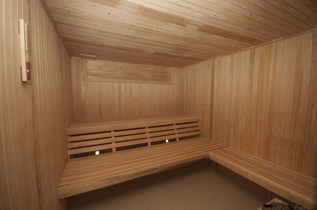 Le Parc Amenities Sauna
